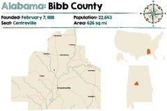 Alabama: Bibb okręg administracyjny Obrazy Royalty Free