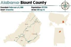 Alabama: Blount okręg administracyjny Zdjęcia Stock