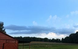 Alabama countryside. Just a Beautiful picture of country life Royalty Free Stock Photography