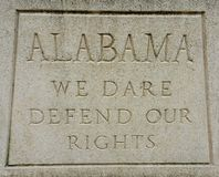 Alabama creed Stock Images