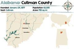 Alabama: Cullman okręg administracyjny Obrazy Royalty Free