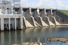 Alabama dam Stock Image