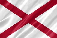 Alabama-Flagge stockbild