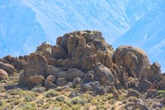 Alabama Hills Stock Photo