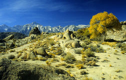 Alabama Hills Royalty Free Stock Photography