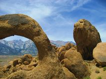 Alabama Hills Arch Royalty Free Stock Image