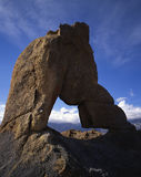 Alabama Hills Arch. A rock arch in the Alabama Hills near Lone Pine, California Stock Images