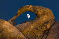 Alabama Hills Arch Royalty Free Stock Photography