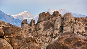 Alabama Hills, Best place to shoot westerns stock photography