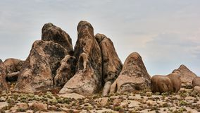 Alabama Hills, Best place to shoot westerns royalty free stock image