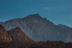 Alabama Hills California Landscape. Eastern Sierra Nevada Mt Whitney California USA Stock Images