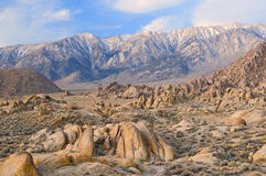 Alabama Hills Eastern Sierra Royalty Free Stock Photography