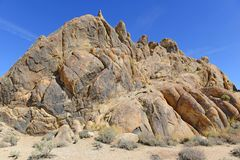 Alabama Hills, in the Easter Sierra Royalty Free Stock Photos