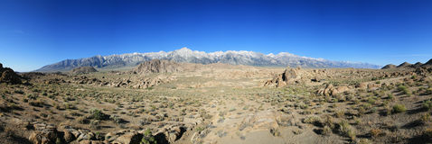 Alabama Hills Panorama Royalty Free Stock Image