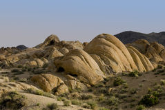 Alabama Hills Rock Formation Royalty Free Stock Images