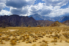 Alabama Hills and the Sierras Royalty Free Stock Images