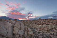 Alabama Hills Sunset Royalty Free Stock Photo