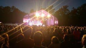 Alabama konsert Royaltyfri Fotografi