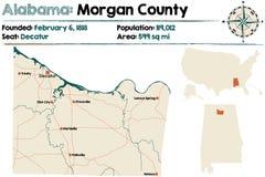 Alabama: Morgan okręg administracyjny Zdjęcia Stock