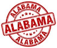Alabama stamp. Alabama round grunge stamp isolated on white background. Alabama