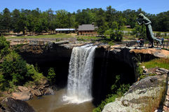 Alabama's Famous Noccalula Falls Royalty Free Stock Photos