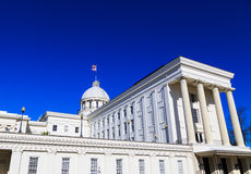 Alabama State Capitol Rear Angle Royalty Free Stock Photos