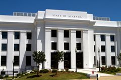 Alabama State Offices Stock Image