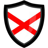 Alabama State Shield. The Alabama State's Shield ised Stock Image