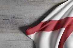 Alabama statflagga Royaltyfri Foto