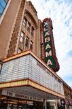 Alabama teater Arkivbilder