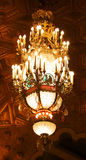 Alabama Theater Chandelier. Elegant and vintage Alabama Theater chandelier Stock Photo