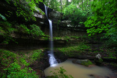 Alabama Waterfall Scenery Royalty Free Stock Photo