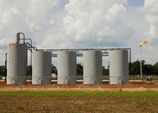 Alabama well site Royalty Free Stock Photography
