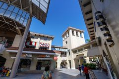 Alabang市中心大厦在马尼拉市 库存照片