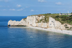 Alabaster coast Normandy Stock Photo
