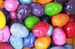 Alabaster easter eggs Stock Images