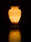 alabaster- handgjorda ljusa egenskaper royaltyfri foto
