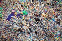 Alabaster-Mikrograph Lizenzfreies Stockfoto