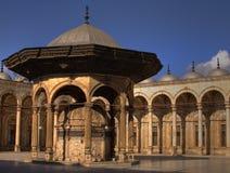 Alabaster-Moschee lizenzfreie stockfotos