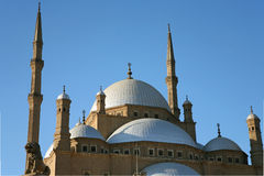 The Alabaster Mosque royalty free stock image