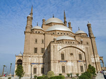Alabaster Mosque. Of Muhammad Ali ,Egypt Stock Photography
