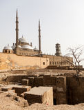 Alabaster Mosque Citadel Cairo Egypt Stock Images