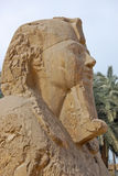 Alabaster sphinx statue Royalty Free Stock Photography