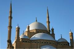 alabastrowy meczet obraz royalty free