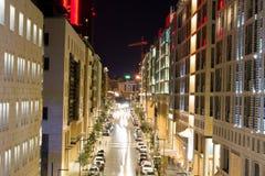 alabdali Amman de boulevard Photos stock