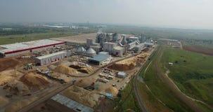 Alabuga鞑靼斯坦共和国新的工厂生产工厂 影视素材