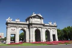 alaca de Madrid puerta Fotografia Stock