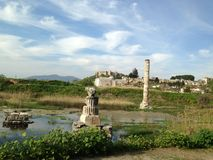 Alacati Ancient Ruins Royalty Free Stock Photos