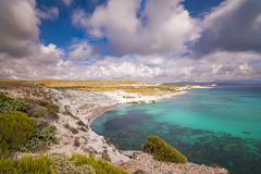 Alacati Beaches. Alacati is a town of Izmir District in Turkey and has beautiful beaches Stock Photos