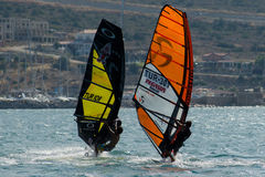 Alacati windsurf рай Стоковое Фото